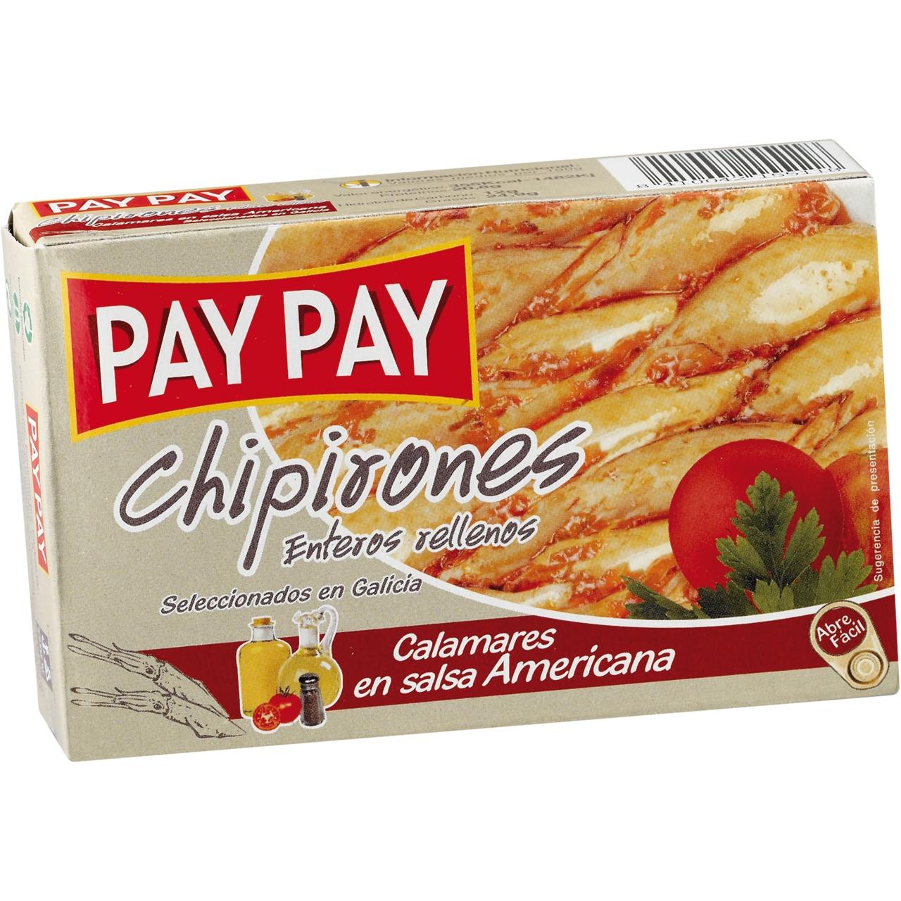 Calamarsets en salsa americana OL 120 F.O. Pay Pay