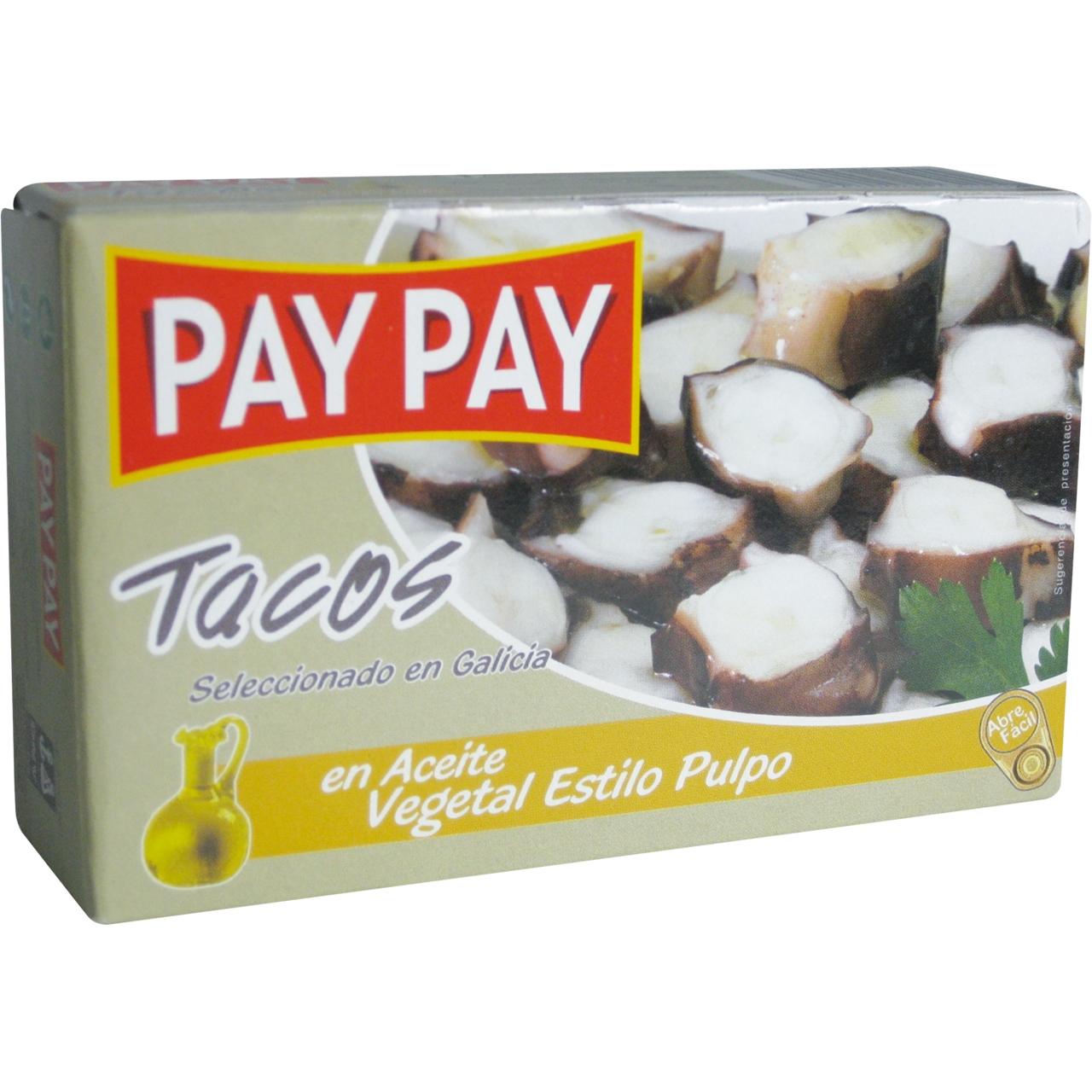 Pop a daus en oli vegetal OL 120 F.O. Pay Pay
