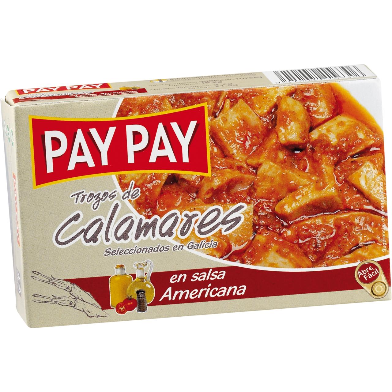 Calamars en salsa americana OL 120 F.O. Pay Pay