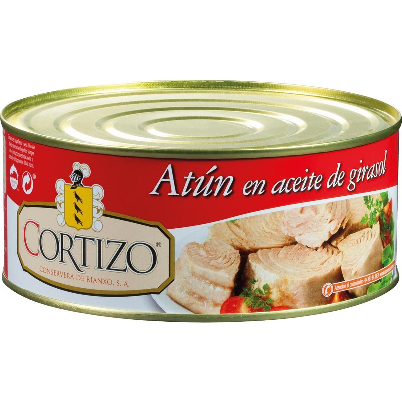 Atún rallado en aceite vegetal RO-1000 Cortizo