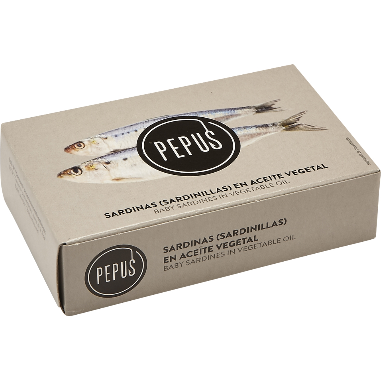 Sardinetes en oli vegetal OL 120 F.O. Pepus