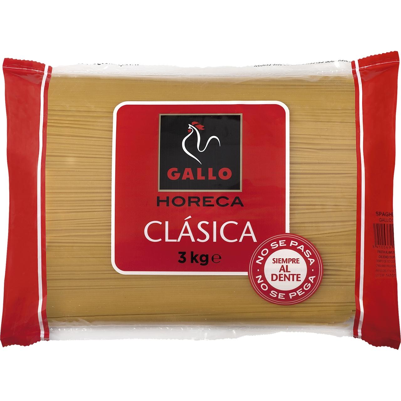 Espagueti nº3 3kg. Gallo