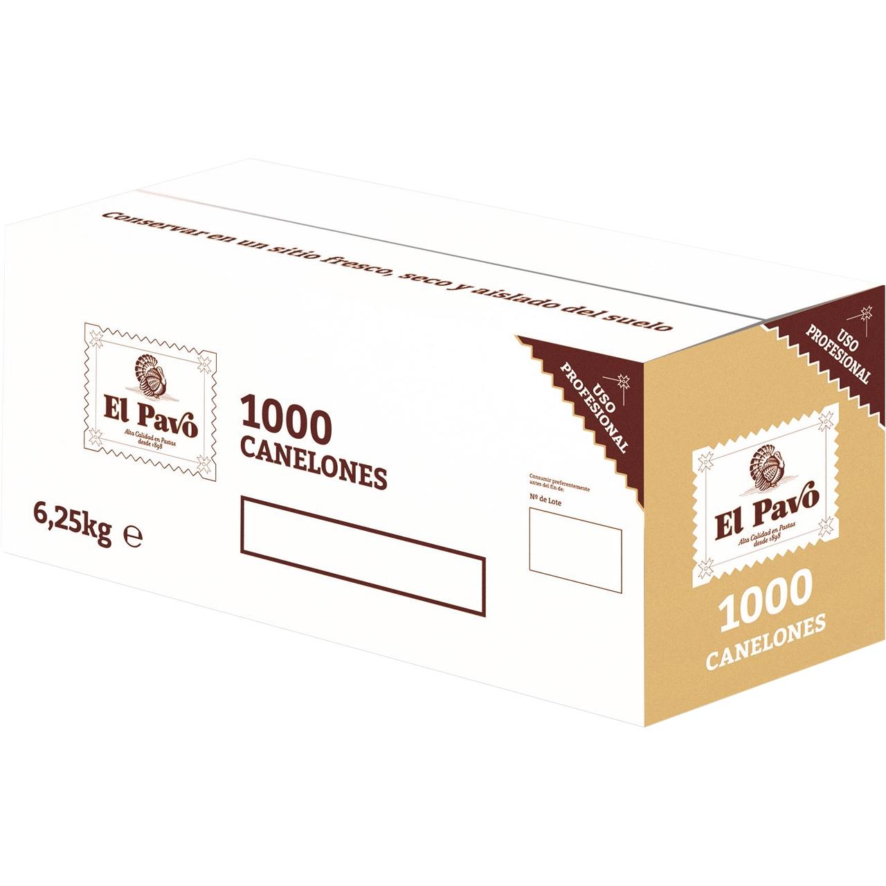 Canelones 1000 placas El pavo