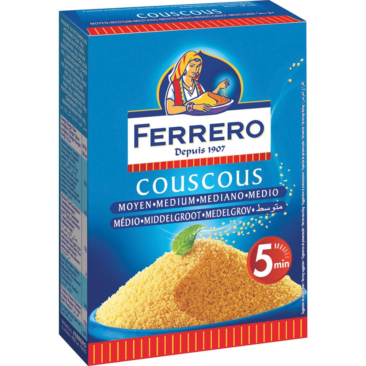 Cous Cous 500gr. Ferrero