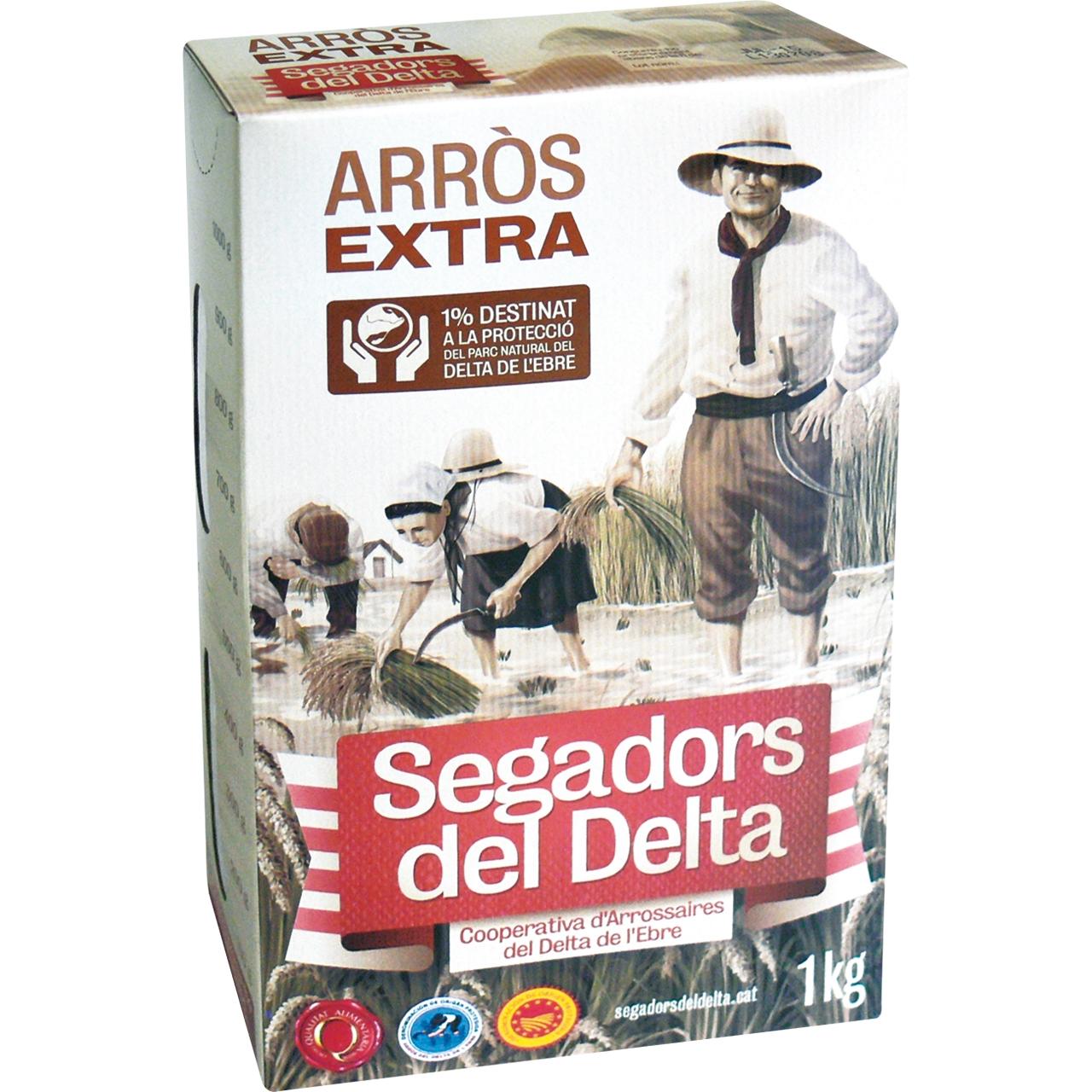 Arròs Extra 1Kg. Segadors del Delta