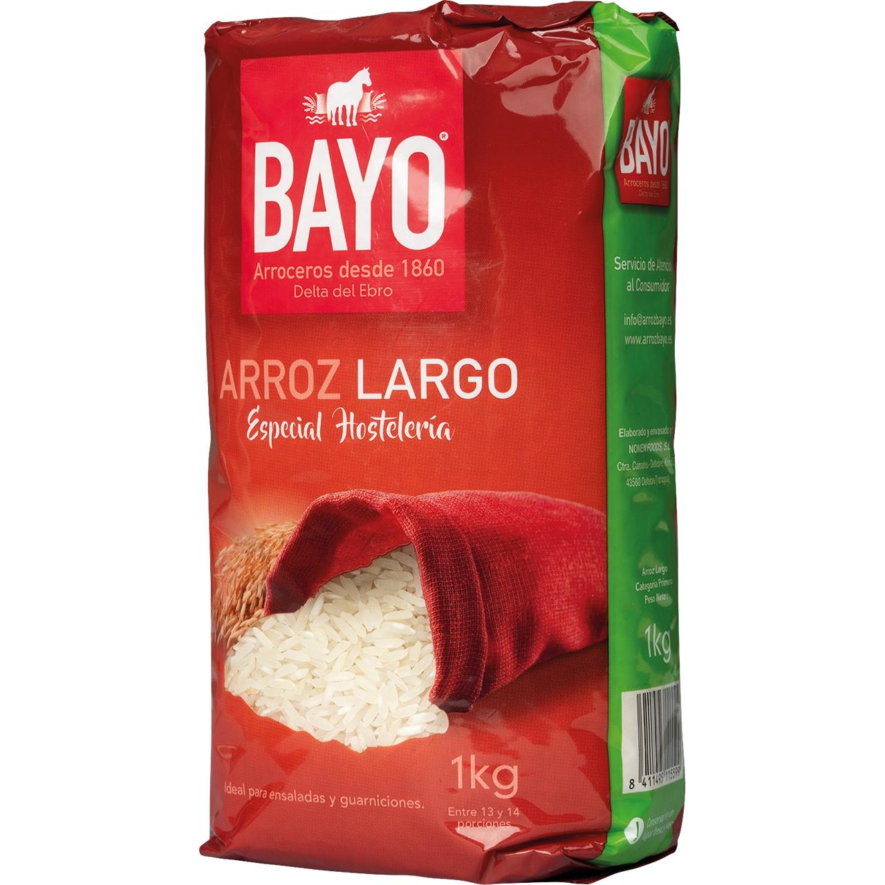 Arroz Largo 1Kg. Bayo