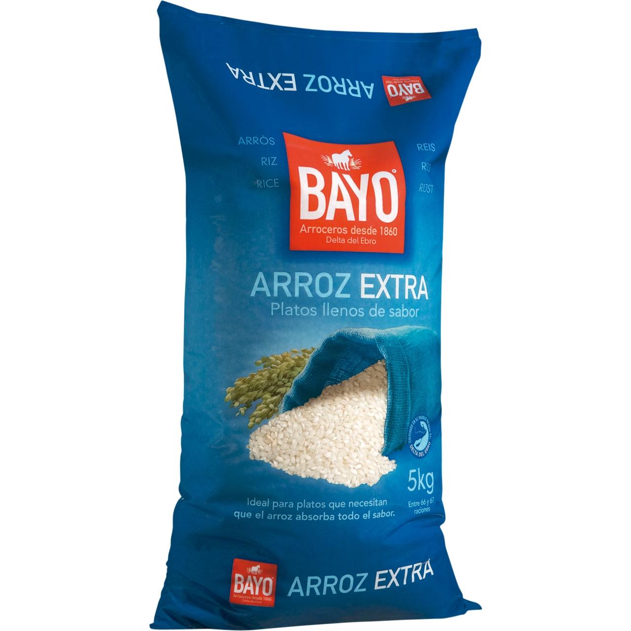 Arroz Extra 5Kg. Bayo