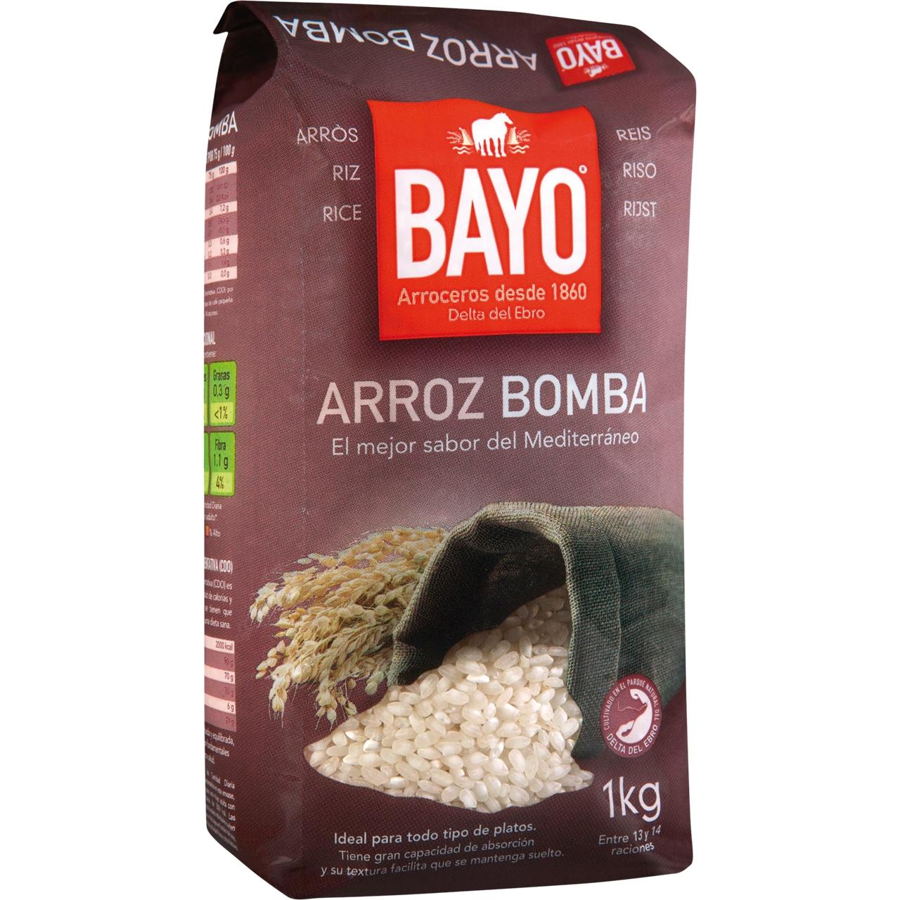 Arròs Bomba 1KG. Bayo
