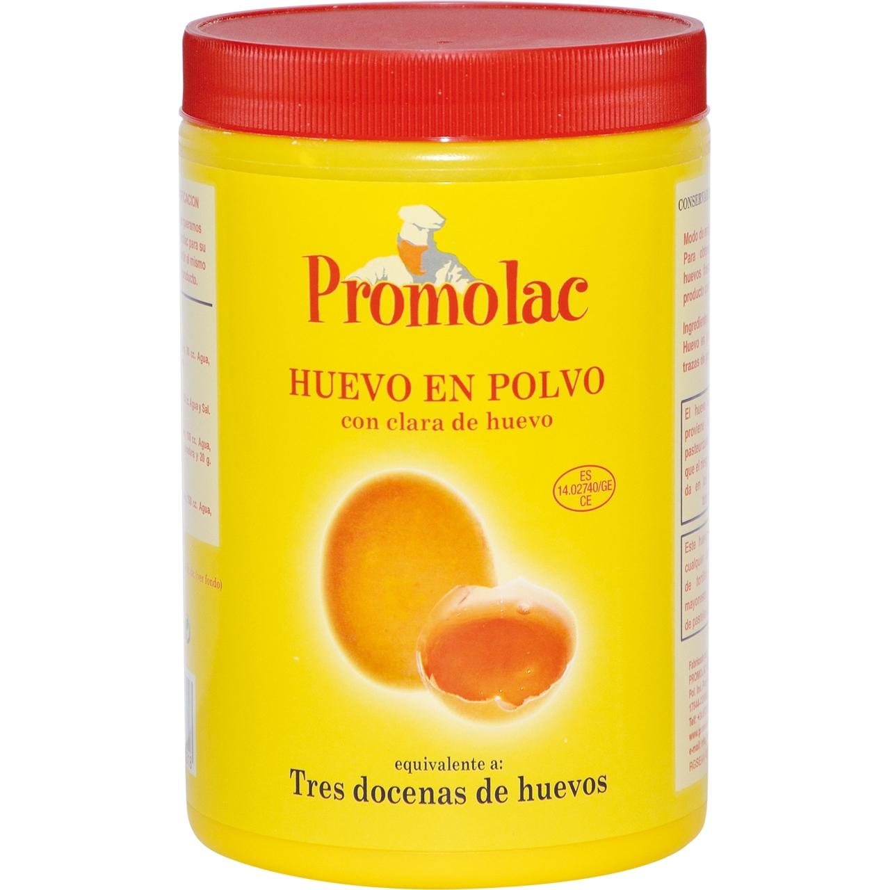 Huevo en polvo deshidratado 360gr. Promolac