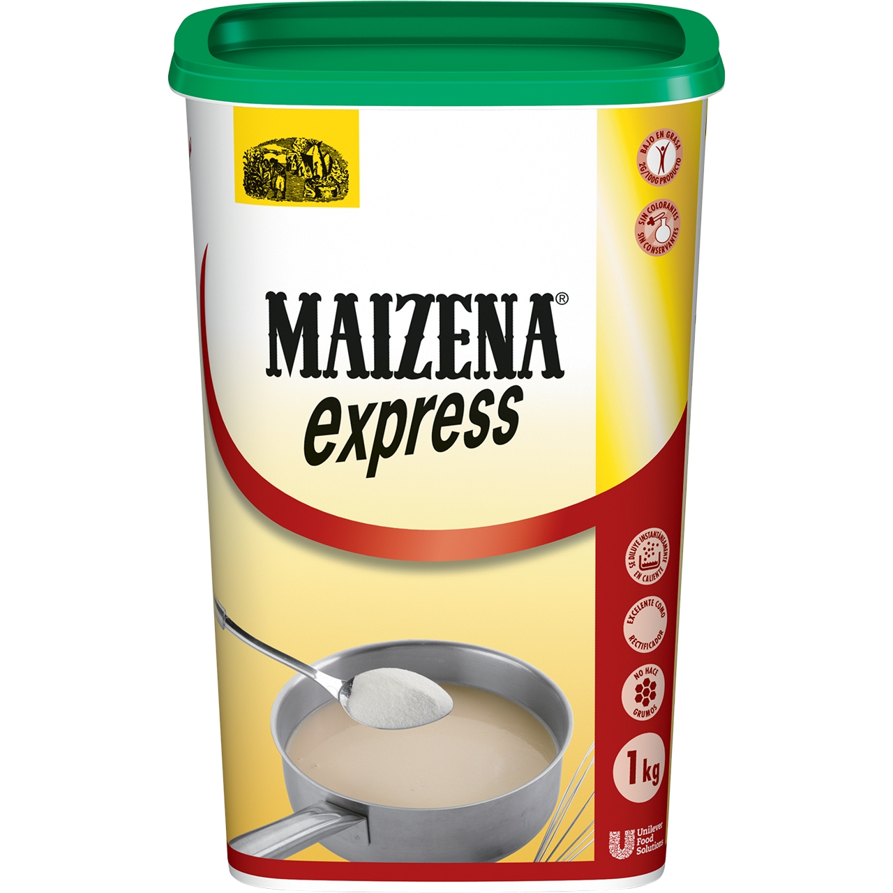Farina express clara 1kg. Maizena
