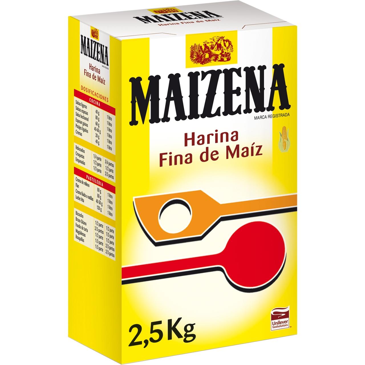 Farina fina de blat 2,5kg. Maizena