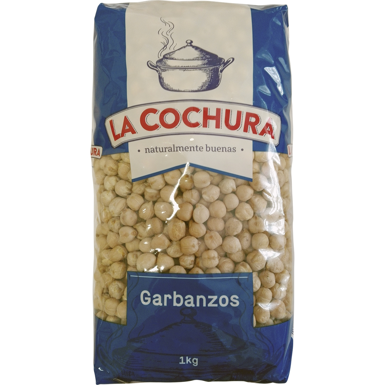 Garbanzo Castellano 58/60 9mm 1kg La Cochura