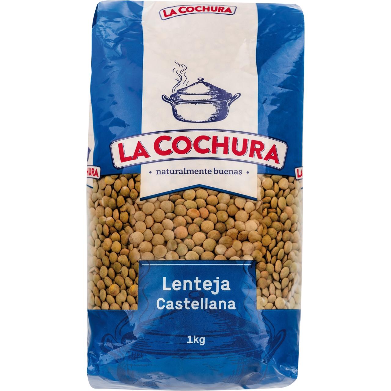 Lenteja castellana extra 1kg. La Cochura