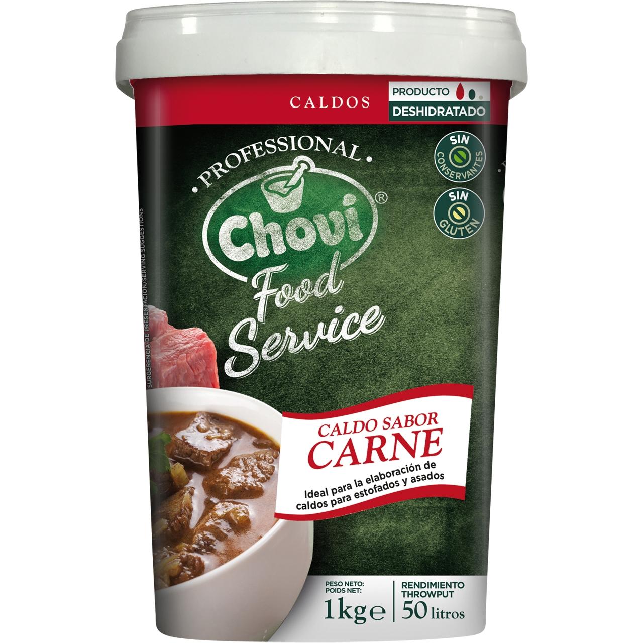 Food Service brou de carn deshidratat 1kg. Chovi
