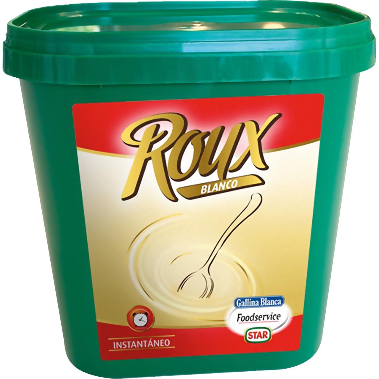 Roux blanco deshidratado 1kg. Gallina Blanca