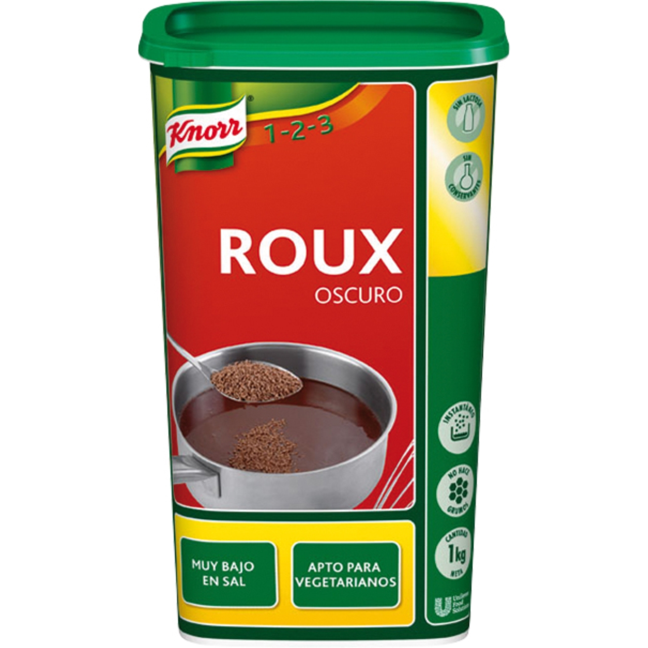 Roux oscuro 1kg. Knorr